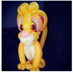 Simba balloon animal #simba #the lion king #balloon #sculpture #twist #art #character