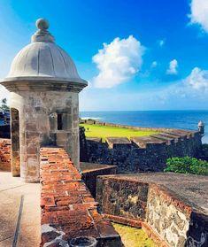 El Morro en el Viejo San Juan, Puerto Rico