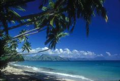 Fiji - it's gorgeous and it looks EXACTLY like this, ya'll. It ranks up there with Paris.