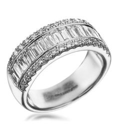 Christopher Designs - Platinum And Diamond Wedding Ring
