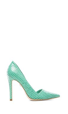 Alice + Olivia Makayla Heel in Teal