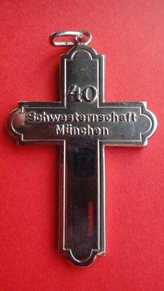 German Red Cross Nurses Cross RARE 40 Years Service Medal Order | eBay