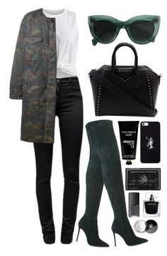 """""""///"""" by mimiih ❤ liked on Polyvore featuring Gianvito Rossi, VILA, T By Alexander Wang, Givenchy, adidas Originals, October's Very Own, TokyoMilk, NARS Cosmetics and Chanel"""