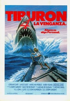 """Ver película Tiburon 4 La venganza online latino 1987 gratis VK completa HD sin cortes descargar mega audio español latino online. Género: Terror Sinopsis: """"Tiburon 4 La venganza online latino 1987"""". """"Tiburón 4"""". """"Jaws 4"""". """"Jaws: The Revenge"""". Ellen Brody aún vive en el pueblo isleño d"""