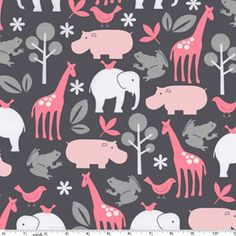 "Michael Miller ""It's a girl thing"" fabric"