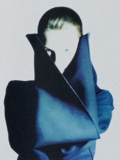Photographed by Nick Knight for Yohji Yamamoto Fall/Winter 1987 Lookbook