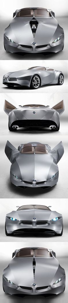 ♂ Silver car GINA Light Visionary Model by BMW http://www.dezeen.com/2008/06/11/gina-light-visionary-model-by-bmw/: