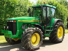 the best tractors are green