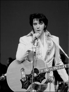 Elvis was originally booked for a four-week, 57-show engagement at the International Hotel in Las Vegas, which had just been built and had the largest showroom in the city. He put together a top-notch group of musicians and vocalists to accompany him, and his show opened on July 31, 1969.