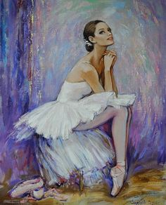 Art enables us to find ourselves and lose ourselves at the same time.— Thomas Merton, No Man Is an Island Oil Painting App, Ballerina Painting, Ballerina Art, Ballet Art, Ballet Drawings, Art Drawings, Ballet Images, Dance Paintings, Ballet Photography