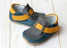 Dětská obuv : Zeazoo Leo Manga Blue/Yellow