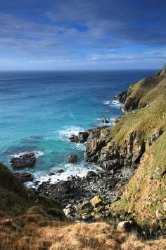 Pendour Cove, Cornwall, where the Mermaid of Zennor was encountered by local sailors