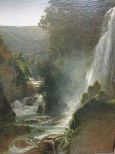 Achille-Etna Michallon - La cascade (Tivoli)