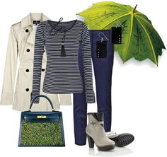 """Días de Lluvia"" by outfits-de-moda2 ❤ liked on Polyvore"