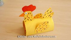 Easter Toilet Paper Roll Craft by Rachel - Mes Petits Bonheurs