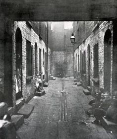 Bostock Street Court off Scotland Road, Liverpool - Liverpool Town, Liverpool Docks, Liverpool History, Liverpool England, Victorian London, Uk Photos, Old London, Slums, British History