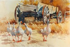 Carl Purcell  #art   #watercolor-painting