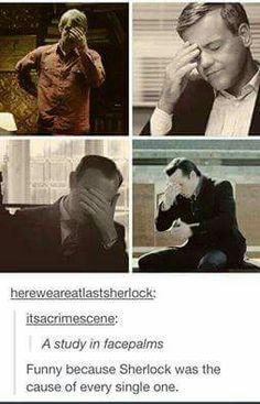 So it's basically a study in Sherlock
