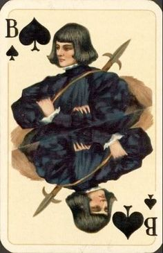 German Art Nouveau playing cards from 1900