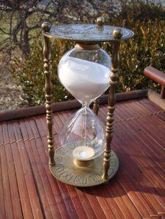 ⌛ 1960s Brass Hourglass ⌛