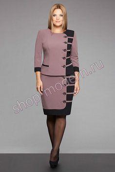 ru / Photo # 123 - Fashion for the full 3 - csarab African Fashion Dresses, African Dress, Suit Fashion, Fashion Outfits, Womens Fashion, Modest Fashion, Dress Suits, I Dress, Plus Size Dresses