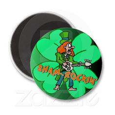 You totally Sham-Rocked St. Patrick's Day Magnet