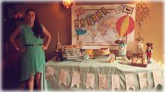 Around the world Baby Shower Dessert Table