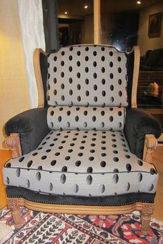 retapisser un fauteuil bergère côté sièges à Brest