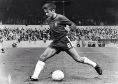 August 1968: BOBBY TAMBLING, CHELSEA's all time record goal scorer with 202 goals...