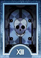 Persona 3/4 Tarot Card Deck HR - Death Arcana by Enetirnel