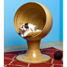 Bamboo Kitty Ball Bed