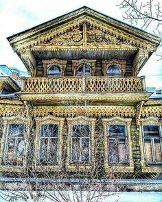 House of wealthy peasant built in 1890. Ekaterinburg, Russia