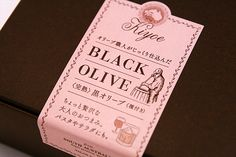 Kiyoe Black Olive Package on Behance