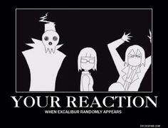 Image from http://orig08.deviantart.net/97ae/f/2014/042/d/c/soul_eater__excalibur_reaction_poster_by_burnedette-d7633na.jpg.