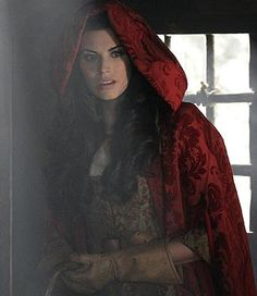 Meghan Ory - Red Riding Hood in Once Upon A Time. My favorite character & dream Halloween character :0)