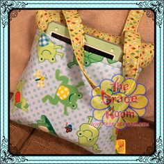 A personal favorite from my Etsy shop https://www.etsy.com/listing/501278751/grace-carryall-travel-lap-frog-personal