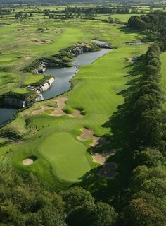 The Palmer Smurfit Golf Course at The K Club Golf Hotel Resort | Straffan, County Kildare, Ireland