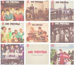 1d albums