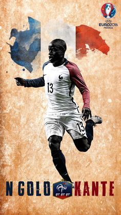 #Kante #Chelsea #France #Football  Watch Football Goals and Highlights on  Highlights-football.com Watch Football, Football Soccer, Football Players, France Wallpaper, N Golo Kante, Sports Graphics, Blue Bloods, Chelsea Fc, Soccer