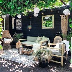 Outdoor Patio Designs, Outdoor Spaces, Outdoor Living, Outdoor Decor, Patio Ideas, Pergola Ideas, Garden Ideas, Backyard Ideas, Better Homes And Gardens