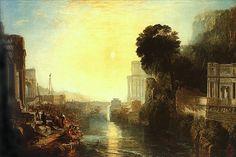 картина < Возведение Карфагена >:: Уильям Тёрнер ( William Turner )…