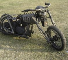 Skeleton chopper - Beautiful chopper looking like a skeleton with big skull on the front. Custom Motorcycles, Custom Bikes, Cars And Motorcycles, Harley Motorcycles, Motorcycle Design, Bike Design, Arte Horror, Horror Art, Cool Bikes