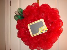 Teacher's wreath  $70.00