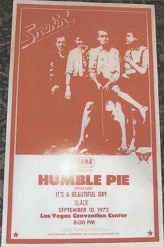 Humble Pie #Tour #70s #USA #Slade