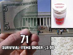 71 Survival Items Under $5.00