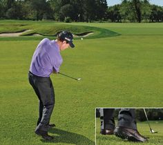 Your impact position is crucial to hitting solid pitch shots.