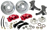 Disc Brake, Steering and Suspension Products for classic Chevy and Ford cars and trucks