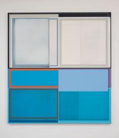 """Alfresco, 2013, Acrylic on canvas, 72"""" H x 67"""" W (182.88 cm H x 170.18 cm W), Photo credit: Robert Wedemeyer"""