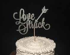 Love Struck Birch Wood Cake Topper - Edit Listing - Etsy