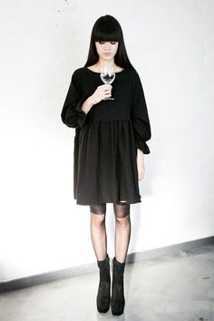 Angel Dress Black http://www.thewhitepepper.com/collections/dresses/products/angel-dress-black